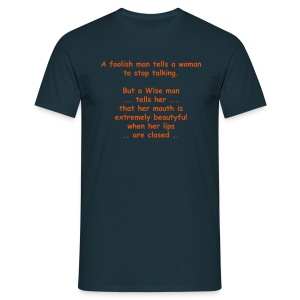 A Foolish Man - Men's T-Shirt