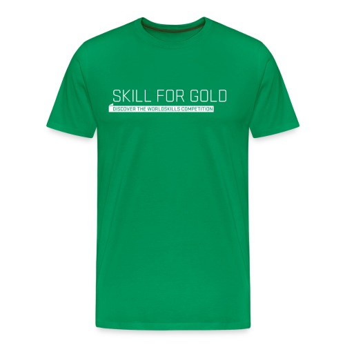 Skill for Gold Men's T-Shirt - Men's Premium T-Shirt