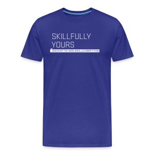 Skillfully Yours Men's T-Shirt - Men's Premium T-Shirt