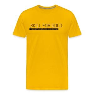 Skill for Gold Men's T-Shirt - Men's Premium T-Shirt