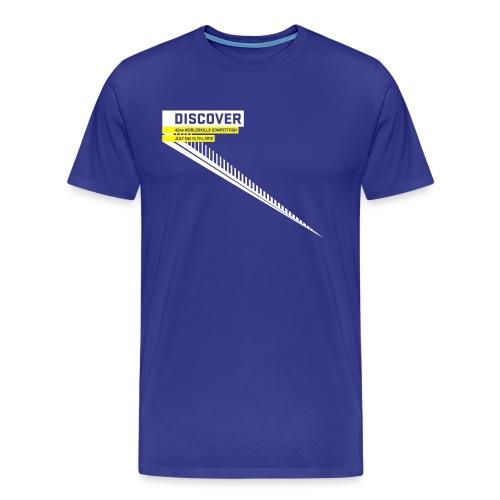 Discover  Men's T-Shirt - Men's Premium T-Shirt