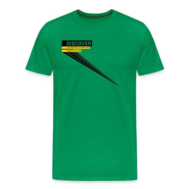 Disccover Men's T-Shirt