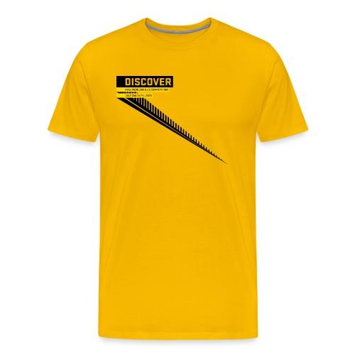 Disccover Men's T-Shirt - Men's Premium T-Shirt