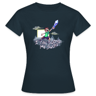 T-Shirts ~ Women's T-Shirt ~ I Can Swing My Sword (Minecraft Diamond Sword Song) (Women)