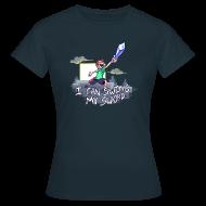 T-Shirts ~ Women's T-Shirt ~ I Can Swing My Sword (Minecraft Diamond Sword Song) (Women)