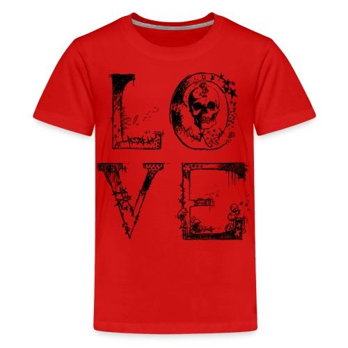 Love McKoy - Camiseta premium adolescente