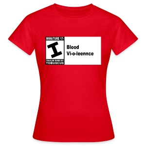 Blood Violence - Women's T-Shirt