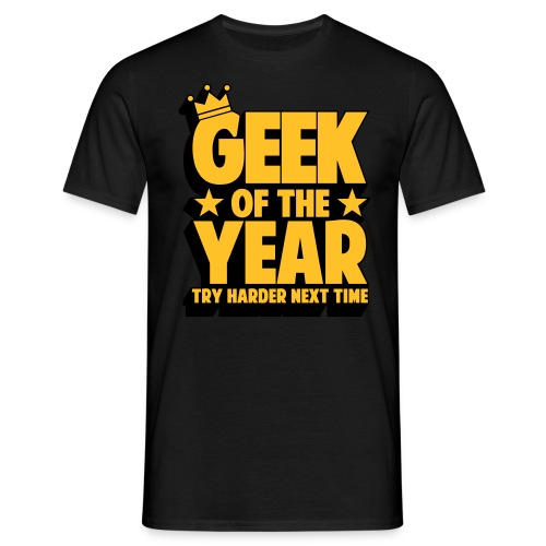 Geek of the year - T-shirt herr
