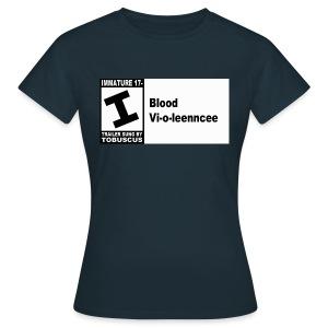 Blood Violence ESRB - Women's T-Shirt