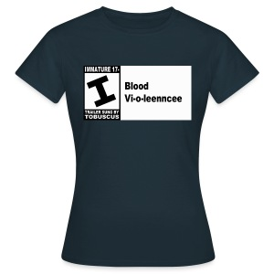 Blood Violence ESRB - Women's T-Shirt