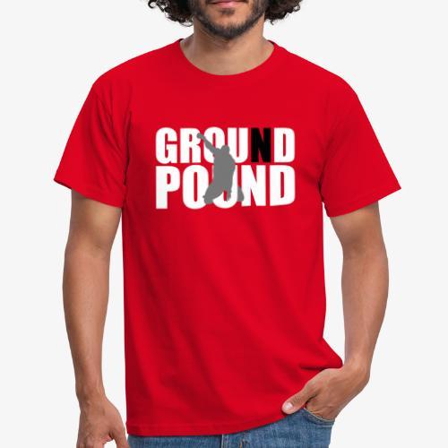 Men's MMA Ground n Pound #3 T-Shirt - B&C - Men's T-Shirt