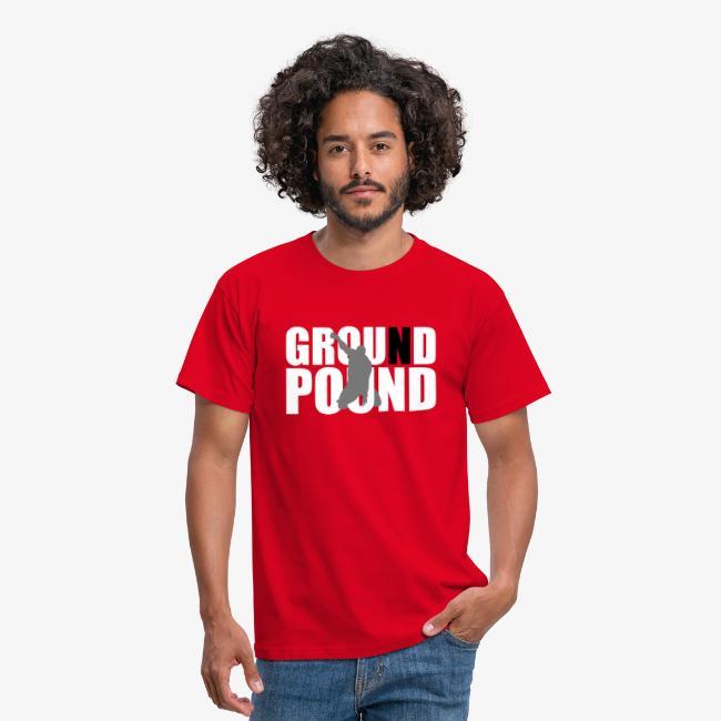 """Men's """"MMA Ground n Pound #3"""" T-Shirt - B&C"""