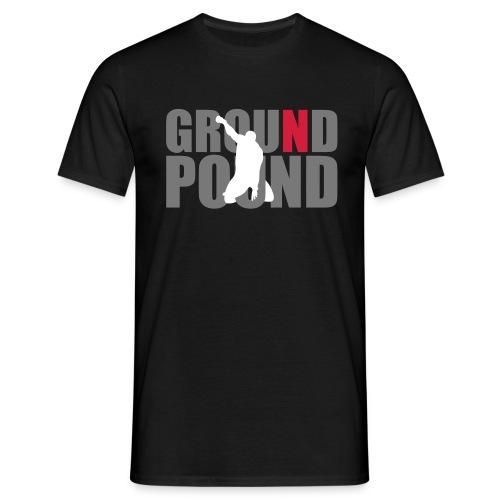 Men's MMA Ground n Pound #4 T-Shirt - B&C - Men's T-Shirt