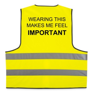 Attention seeking high-vis jacket - Reflective Vest