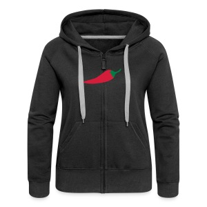 CHILLIPEPPER SANDWICHES & MORE - Women's Premium Hooded Jacket