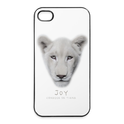 Coque iPhone 4/4S portrait Joy - Coque rigide iPhone 4/4s