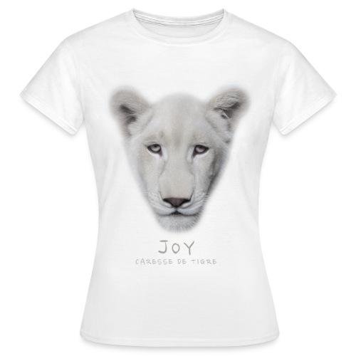 T-Shirt Femme portrait Joy - T-shirt Femme