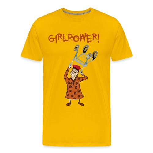 Elsa 82 år - Premium-T-shirt herr