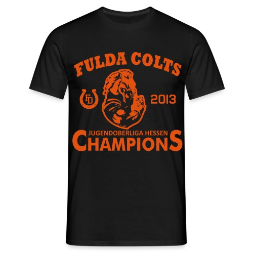 Fulda Colts 2013 Champions T-Shirt - Männer T-Shirt