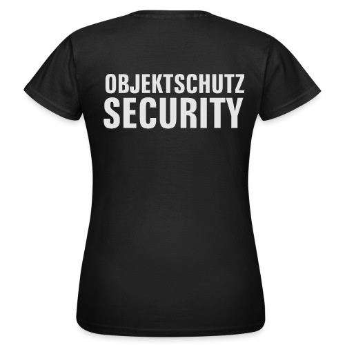 Objektschutz Security - Frauen T-Shirt