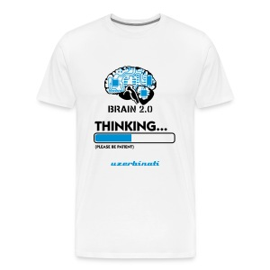 Brain, What Do You Main ? - Men's Premium T-Shirt