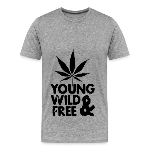 Young Wild and Free T-Shirt - Men's Premium T-Shirt