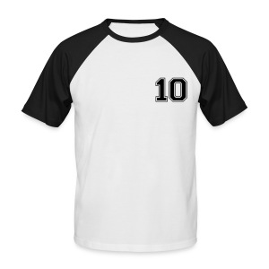 AhOh!10 Black - Men's Baseball T-Shirt