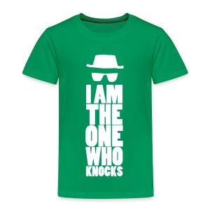 I Am The One Who Knocks - Kinderen Premium T-shirt