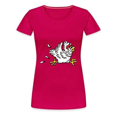 Bluatsackara Leiwö fia Damen rot - Frauen Premium T-Shirt