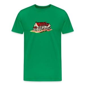 Waar u zich echt thuis gevoelt Normaal - Mannen Premium T-shirt