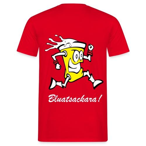 Leiwö fia dBurschn rot - Männer T-Shirt
