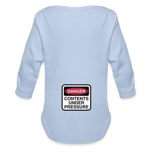 Organic Longsleeve Baby Bodysuit - Humorous Baby Grow