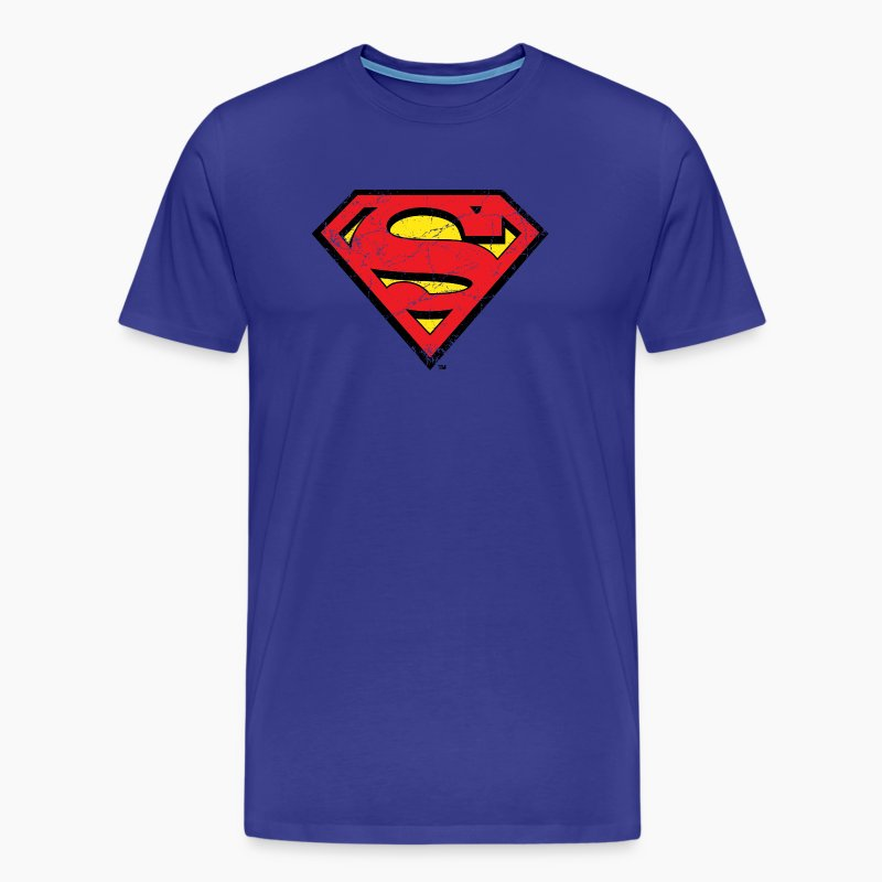 superman s shield t shirt f r m nner superhelden t shirt. Black Bedroom Furniture Sets. Home Design Ideas