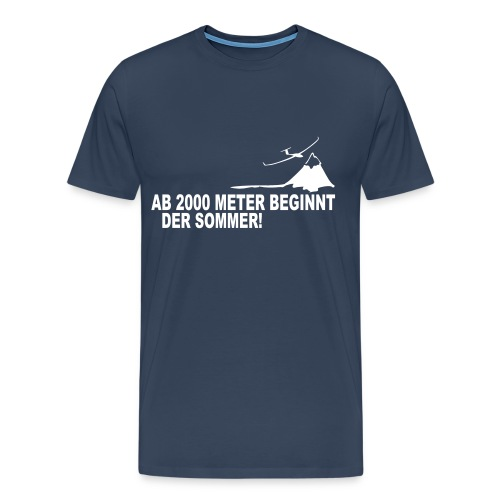 T-Shirt - light navy - Fliegerlager 2013 - Variante 1 - Männer Premium T-Shirt