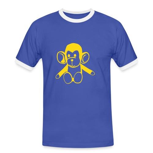 AFFE - Männer Kontrast-T-Shirt