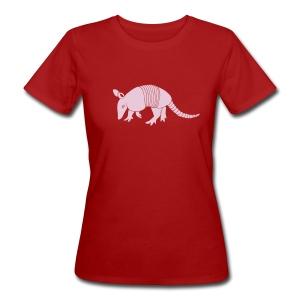 tier t-shirt gürteltier armadillo gürtel faultier - Frauen Bio-T-Shirt