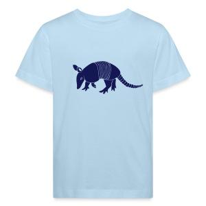 tier t-shirt gürteltier armadillo gürtel faultier - Kinder Bio-T-Shirt