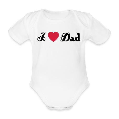 kortermet babybody, 100 % bomul - Økologisk kortermet baby-body
