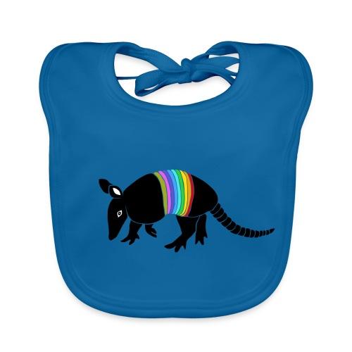 tier t-shirt gürteltier armadillo gürtel faultier - Baby Bio-Lätzchen