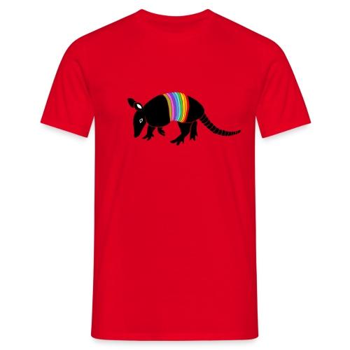 tier t-shirt gürteltier armadillo gürtel faultier - Männer T-Shirt