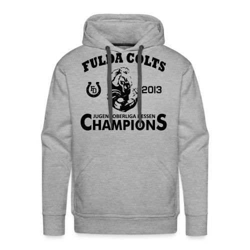 Fulda Colts 2013 Champions Kapuzenshirt - Männer Premium Hoodie