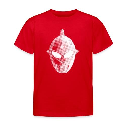Tokusatsu - Enfant - Blanc sur rouge - Kids' T-Shirt