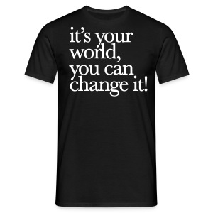 change it! - Männer T-Shirt