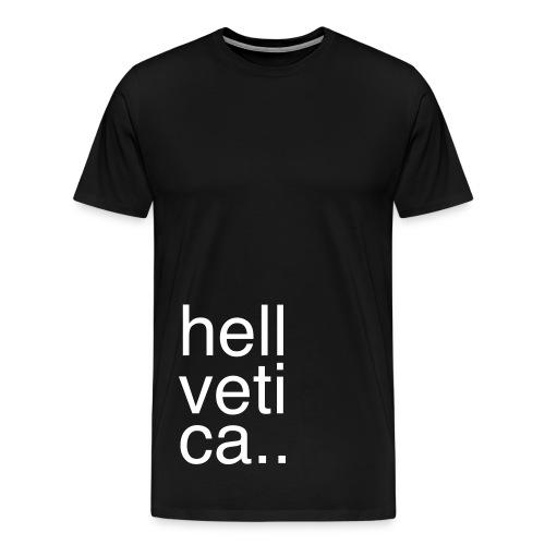 Hellvetica - Men's Premium T-Shirt