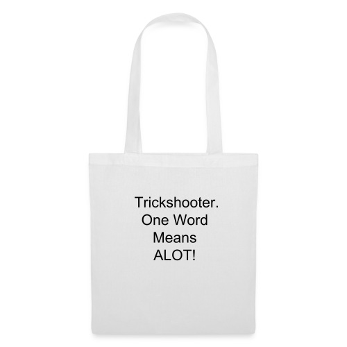 Trickshooting  - Tote Bag