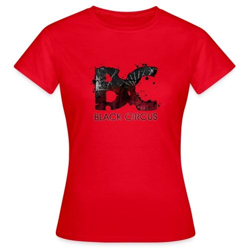 BC-Shirt Girly, Logo front red, Logo back white - Frauen T-Shirt