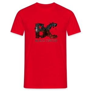 BC-Shirt Logo front red, Logo back white - Männer T-Shirt