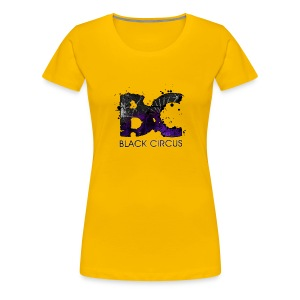 BC-Shirt Girly, Logo front purple, Logo back white - Frauen Premium T-Shirt