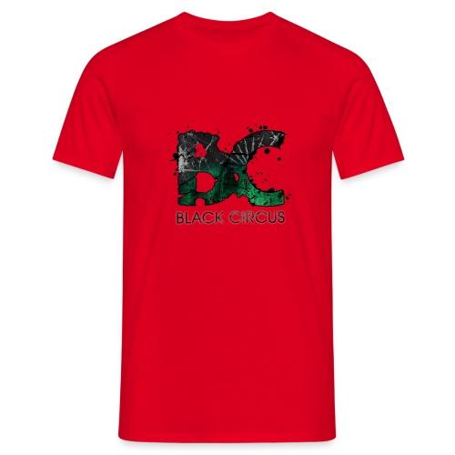BC-Shirt Logo front green, Logo back white - Männer T-Shirt