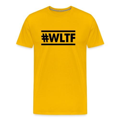 WLTF- Yellow T shirt - Men's Premium T-Shirt